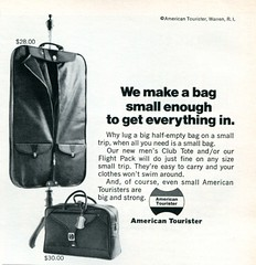 1971 American Tourister Advertising Playboy June 1971