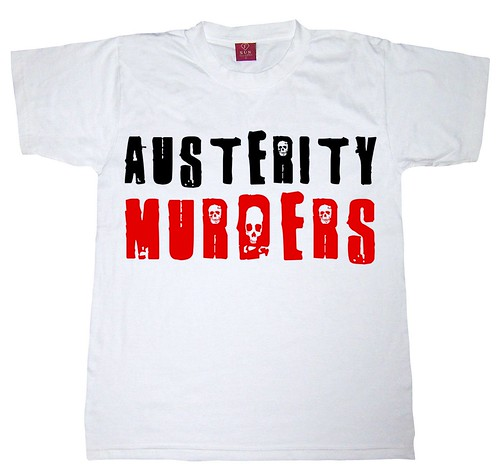 Austerity Murders -T-shirt by Teacher Dude's BBQ