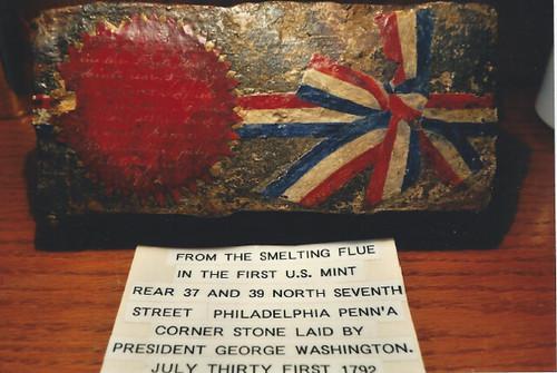 Purported US Mint brick