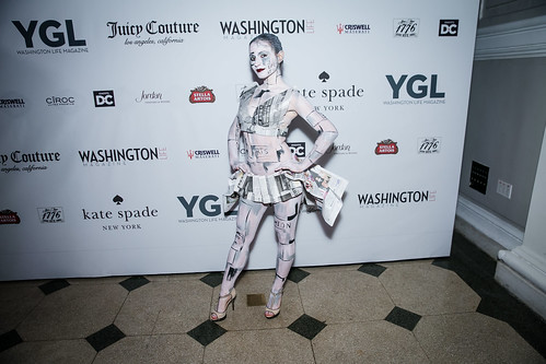 lena galperina. photo by alfredo flores. the young and the guest list party 2013. carnegie library. december 11, 2013