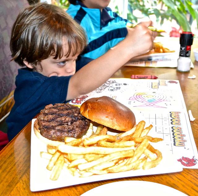 kids menu at harry's seafood