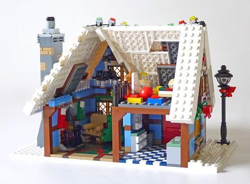 LEGO 10229 Winter Village Cottage b15