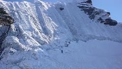 Ściana lodowa na Island Peak 6189m