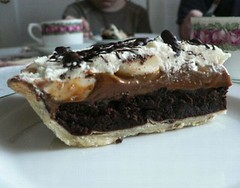 Chocolat & Banana Mud Pie 012