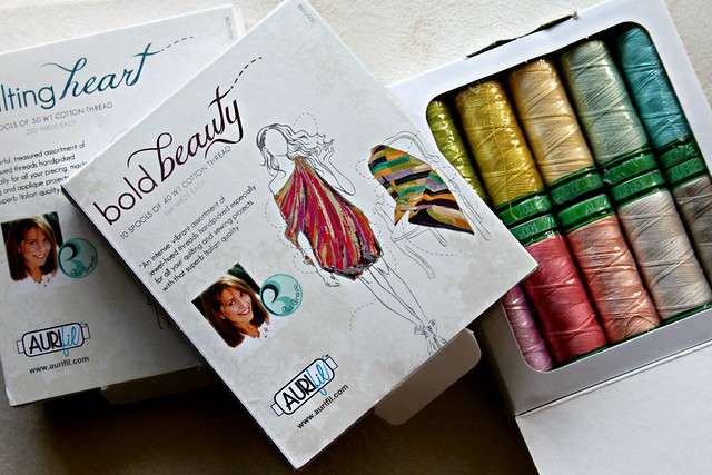 Pat Bravo Aurifil Thread Kits!