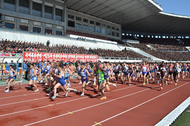 Register for the Pyongyang Marathon April 10, 2016