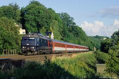 ME 1531 with EC 371 Aarhus - Prag near Vejle