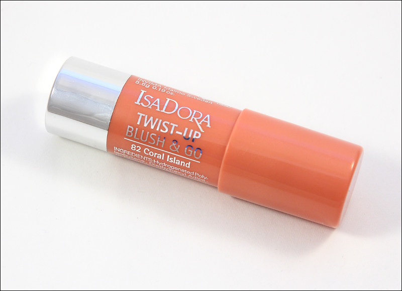 IsaDora 82 coral island twist-up blush & go