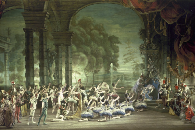 The Royal Ballet in The Sleeping Beauty, Prologue, 1946 © Frank Sharman Collection at ROH Collections