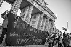 International protest against the criminalization of homelessness