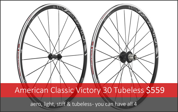 American Classic Victory 30 Tubeless