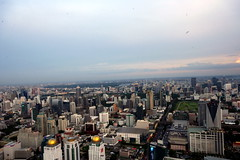 A view from Baiyoke Sky Bangkok