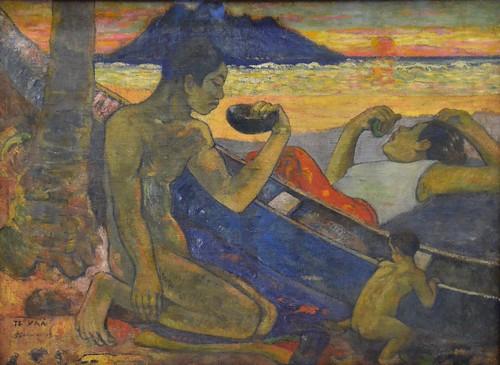 Te Vaa (Canoe), Paul Gauguin, 1896