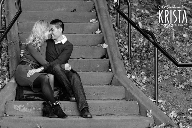 Engagement Session at Jamaica Pond