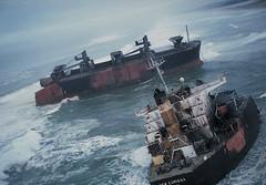 vehicle, freight transport, ship, watercraft,