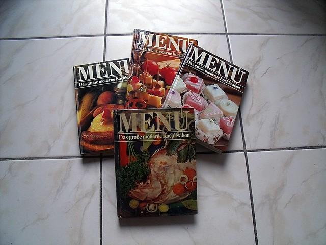 Menü - Das große moderne Kochlexikon