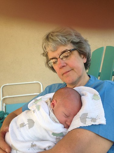 Grandma & baby Mae