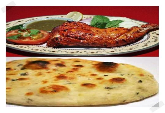 Resepi :: Roti Naan + Ayam Tandoori + Kuah Mint (Chutney)