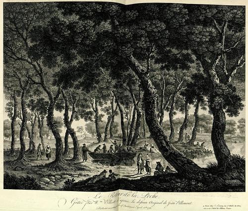 004- Retorno de la pesca-Oeuvre gravé de Jean Pillement..1767-Vol 1- INHA