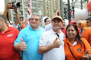 8ª Marcha dos Trabalhadores mobiliza São Paulo pela pauta sindical