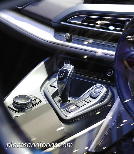 bmw i8 gear stick
