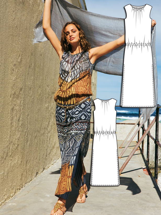 Turquoise Oasis: 13 Desert Inspired Sewing Patterns – Sewing Blog ...