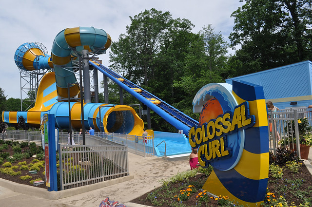 Colossal Curl at Water Country USA