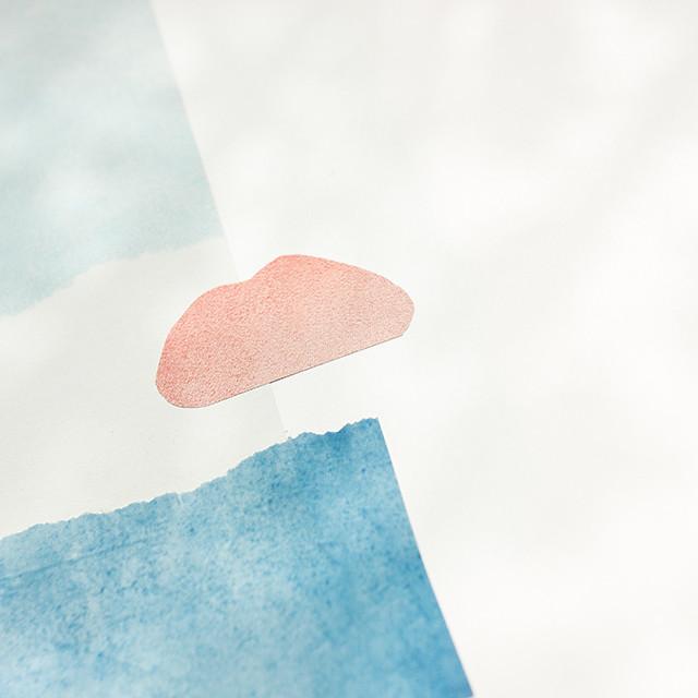 cloud collage closeup