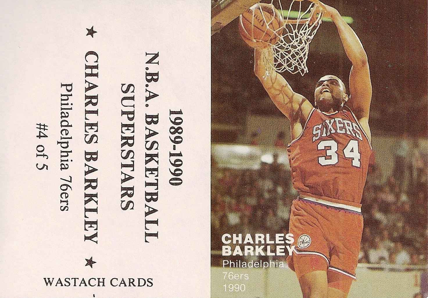1990 Wastach Cards NBA Basketball Supertstars (5)