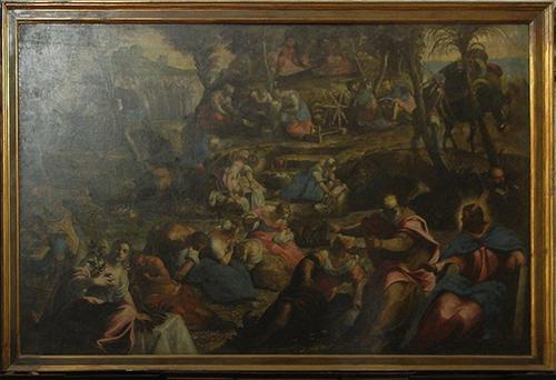 DSCN0356_m _ The Fall of Manna, Jacopo Tintoretto, San Giorgio Maggiore, Venezia, 11 October - 500