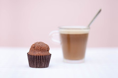 Café con magdalena