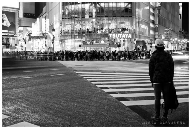 Tokio - Shibuya Crossing