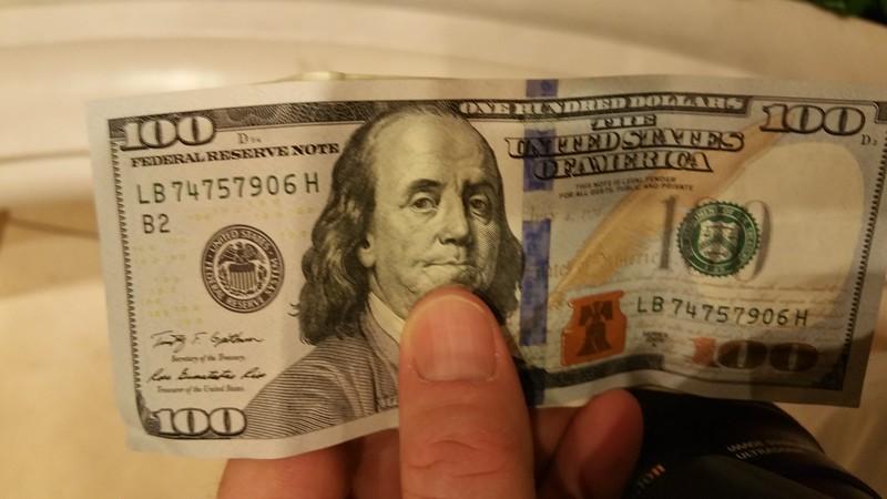 Hundo from the ATM
