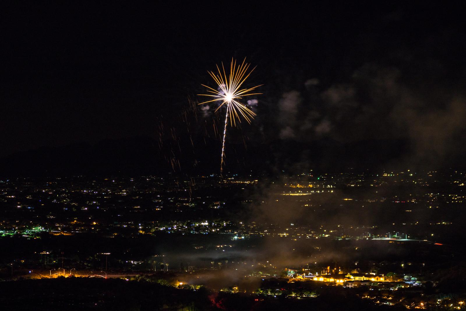 1507 Fireworks Near the Linda Vista Trail 02