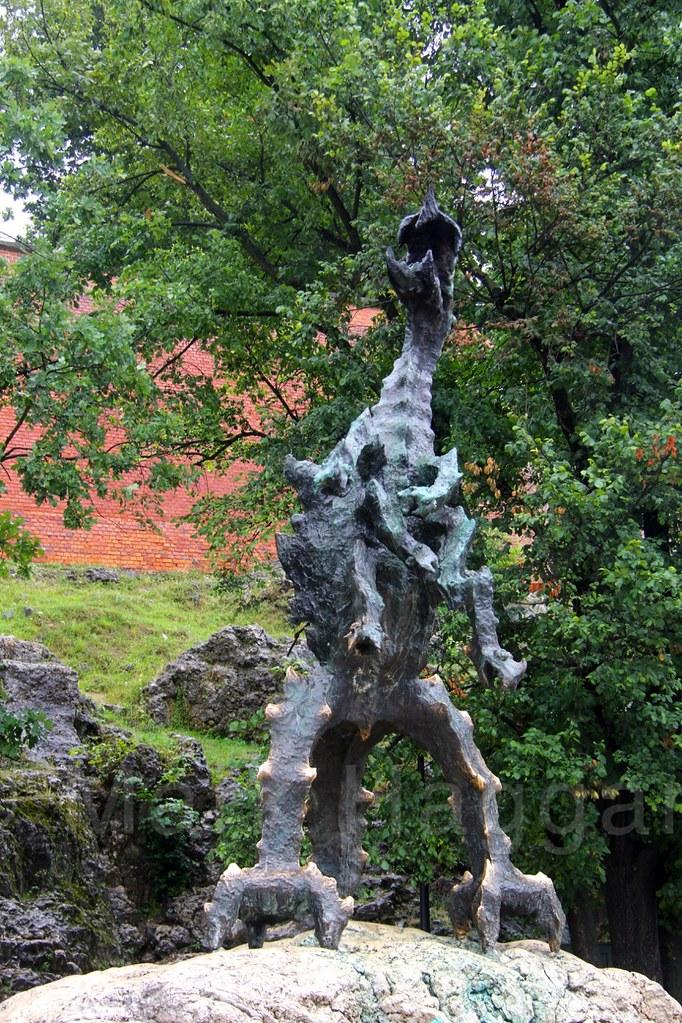 The dragon at Krakow Castle