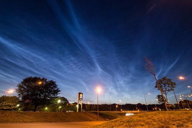 noctilucent clouds 1