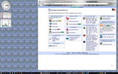Initial Windows 10 Desktop