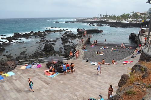 San Telmo sundeck, Puerto de la Cruz, Tenerife