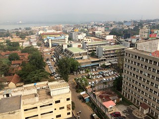 Bank Street, Looking North, with Lake Victoria in Distance