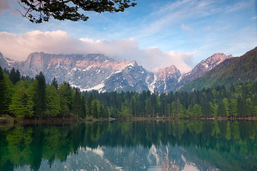 Laghi di Fusine (Lago Inferiore)