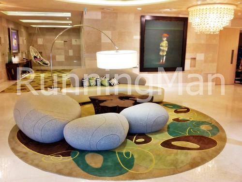 W Hotel Singapore 04 - W Away Spa Lounge Pebble Sofa
