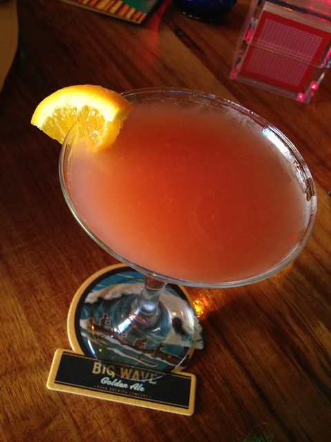 Blood orange martini - Hula's Island Grill