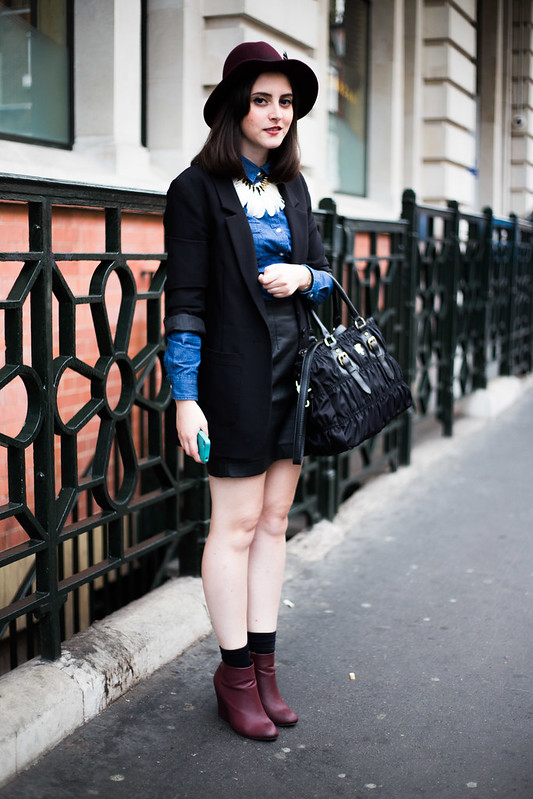 Street Style - Stefania, London Collections: Men