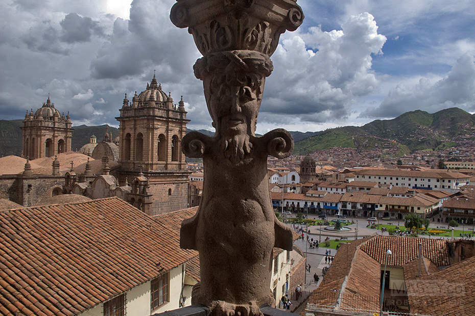 'Santo Domingo' provided some fantastic views out over Cuzco.