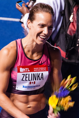 Jessica Zelinka @ the Toronto Track and Field Games - #163/365 by PJMixer