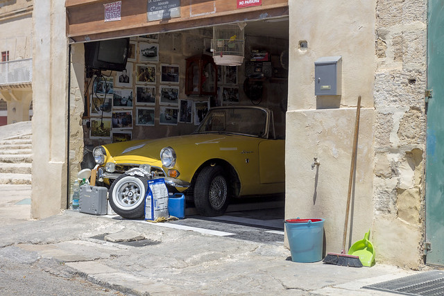 Sunbeam Alpine 1968 in Garage / Malta