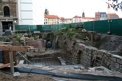 Ausgrabungen nahe der Frauenkirche