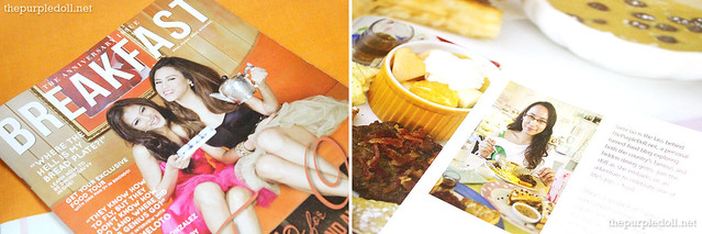Breakfast Magazine Stacy's Write-Up by Sumi
