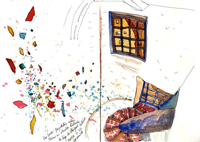 huesca-catedral-escalera