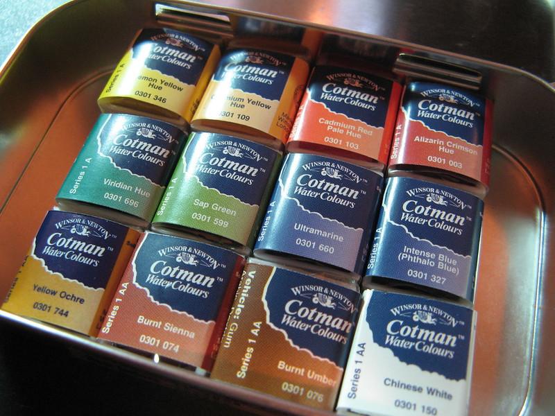cotman watercolor palette an inkophile s blog